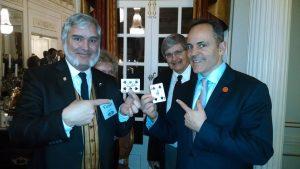 Magic with Kentucky Governor, Matt Bevin