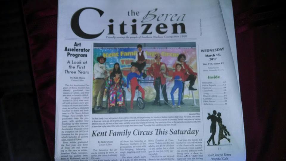 Kent Family News